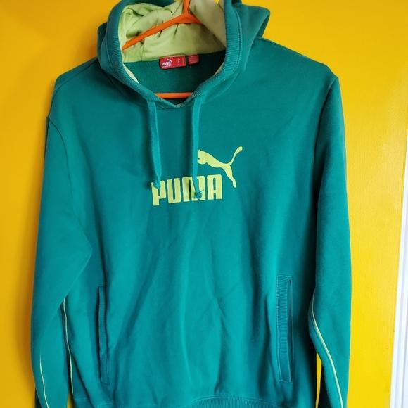 2 Puma Large Hoodies